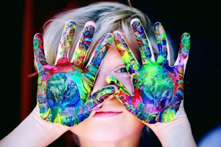 Børns farver inspirerer
